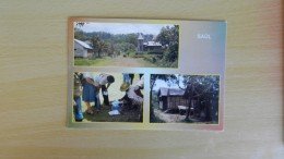 Cp Guyane Française   -  Saul    -le Village - Tri Du Courrier - Jolies Maisons - Guyane