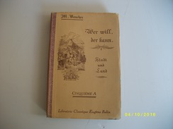 Wer Will Der Kann 1937 - Livres Scolaires
