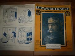 1917 Le Pays De France :Attelages D'ânes Dans L'armée Italienne En Macédoine;British-music - Magazines & Papers