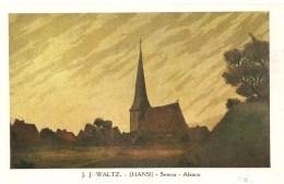 CPA J.J. WALTZ Hansi Sewen (Alsace) - Hansi