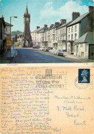 High Street, Machynlleth, Montgomeryshire, Wales Postcard Posted 1970 Stamp - Montgomeryshire
