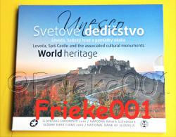 Slovakije - Slovaquie - Officiële Set 2016 BU.(Unesco) - Slovaquie