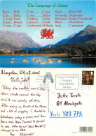 Welsh Language, Wales Postcard Posted 2006 Stamp - Pays De Galles