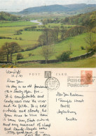 Dove Estuary, Machynlleth, Montgomeryshire, Wales Postcard Posted 1987 Stamp - Montgomeryshire