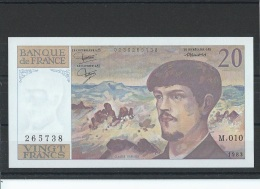 FRANCE - FAY 66/4 - 20 FRANCS DEBUSSY - 1983 - ALPHABET M010 - NEUF - 1962-1997 ''Francs''