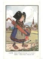 CPA J.J. WALTZ Hansi Gretel D´après L´estampe Et La Poupée - Hansi