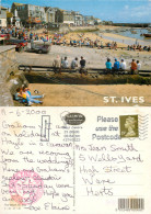 St Ives, Cornwall, England Postcard Posted 2000 Stamp - St.Ives