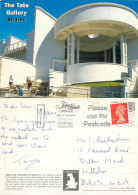 Tate Gallery, St Ives, Cornwall, England Postcard Posted 2001 Stamp - St.Ives