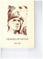 Charles De Gaulle  24/02/1990  Lille  N° 10/2016-013-014-015-016 - 1990-1999