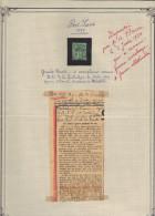 Sage 5 C. Vert Surcharge Port-Saïd : Histoire D'un Faux Ou Les Espoirs Déçus D'un Collectionneur.