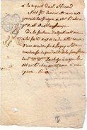 VP5617 - LAGNY - Acte 1790 - Vente D'une Maison à LAGNY Rue Vacheresse - Manuscrits
