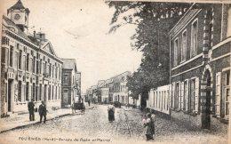 B26791 Fournes, Bureau De Poste Et Mairie - Non Classés