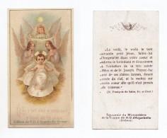 """"""" Dieu A Tant Aimé Le Monde..."""", Jésus, Anges, Crèches, Noël, éd. Notre-Dame D´Aiguebelle, Saint François De Sales - Devotion Images"""