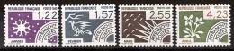 France -  1985 - Préoblitérés N° 186 à 189 - Neufs ** - Janvier, Février, Mars Et Avril - Precancels
