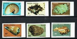 Vie Marine  1985  Coquillages   Yv 323-8  Non Dentelés ** - Wallis And Futuna