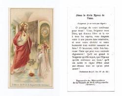 Sacré Coeur De Jésus, éd. Notre-Dame D´Aiguebelle - Images Religieuses