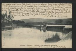 51 CUMIERES - La Marne Et Le Barrage - 1903 - PRECURSEUR - Other Municipalities