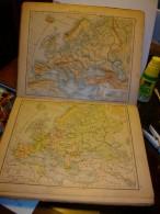 Volksschul-Atlas  Von  Rudolf Schmidt   Edit. Velhagen & Klafing 1897.  32 Cartes - Atlas