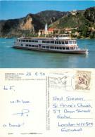 MFS Prinz Eugen Boat, Durnstein An Der Donau, Niederosterreich, Austria Postcard Posted 1990 Stamp - Other