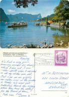 Boat, Mondsee, Oberosterreich, Austria Postcard Posted 1982 Stamp - Mondsee