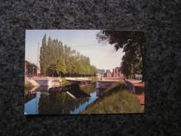 BRACQUEGNIES Pont Tournant Carte Postale Compagnie Du Canal Du Centre Non Voyagée Province Du Hainaut - Belgique