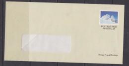 Australia Postal Stationery Kosciusko National Oark / Park Glacier Unused (F5744)