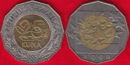 "Croatia 25 Kuna 1999 ""Euro Currency"" BiMetallic - Croatia"