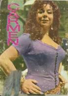D-CALENDARIO CARMEN(OPERA LIRICA)1969 - Calendriers