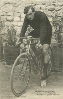 ROMILLY SUR SEINE    Cyclisme J LALLEMAND Sur Bicyclette GLORIATOR  Pneus WOLBER - Romilly-sur-Seine