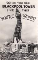 Architecture - Tour Phare - Surréalisme - Blackpool Tower - You're Drunk - Editeur Bamforth Yorks - Lighthouses
