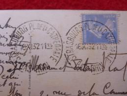 CACHET D ESSAI STRASBOURG PLACE DE LA CATHEDRALE - Marcophilie (Lettres)