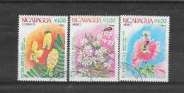 Nicaragua 1984 Mi Nr°2492,2494,2495  (o)Gestempeld Met Gom - Nicaragua