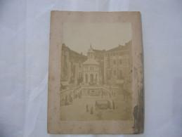 FOTO ALBUMINA ALESSANDRIA-ACQUI TERME XIX°SECOLO. - Alte (vor 1900)