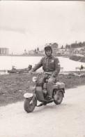 "MOTO-FOTO-PHOTO-ORIGINALI 100%-MOTOCICLISTI-GARE-""MISURINA´""-2 SCANN- - Motos"