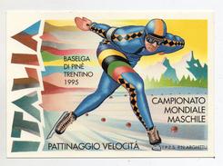 Italia - Baselga Di Pinè (Trento) - 10.02.1995 - Campionato Mondiale Pattinaggio Di Velocità - (FDC 995) - Sport Invernali