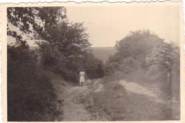 25809 Belgique -  Bourseigne Neuve -photo 8x5.5cm - Datée 1943