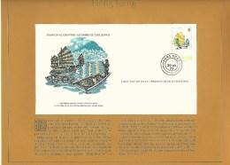 HONG KONG  PREMIER JOUR  30 . JUIN . 1977  SHIN SHAN JEN OU PERSONNES NEES SUR L'EAU  OBLITERE 2 SCANNE - 1997-... Région Administrative Chinoise