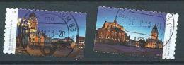 ALLEMAGNE ALEMANIA GERMANY DEUTSCHLAND BUND 2013 Berlin Police P.11 Set 2v MI 2987-88 YV 2806-07 SC 2714-15 SG 3824-25 - Gebraucht