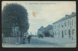 +++ CPA - SINT TRUIDEN - SAINT TROND - Le Christ - Porte De Tirlemont  // - Sint-Truiden