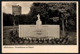 6653 - Alte Ansichtskarte - Wilhelmshaven - Friesenbrunnen Im Kurpark - Brunnen - Nordseeverlag - N. Gel - Wilhelmshaven