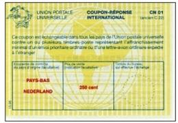I530 IRC - International Reply Coupon, Netherlands, 10.98 - Postal Stationery