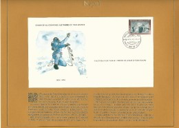 NEPAL  PREMIER JOUR  29 . 5 . 1978  ROYAUME DU NEPAL L'HIMÄLAYA  EDMUND HILLARY    OBLITERE 2 SCANNE - Nepal