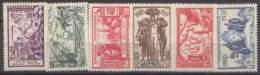 Détail De La Série Exposition Internationale De Paris ** AEF N° 27 à 32 - 1937 Exposition Internationale De Paris