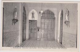 Kortemark : Klooster Der Zusters Van Liefde OLV Van Trooste De Voorhal Stempel 7 Sterretjes Roeselare - Kortemark