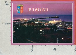 CARTOLINA NV ITALIA - RIMINI - Scorcio Panoramico - Notturno - 10 X 15 - Rimini