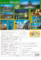 Munchen, Germany Postcard Posted 2005 ATM Meter - Muenchen