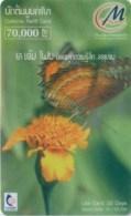 Mobilecard Laos - Schmetterling