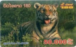 Mobilecard Laos - Tiger
