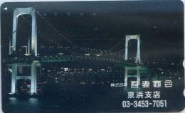 Telefonkarte Japan - Brücke , Bridge -  110-011 - Japan