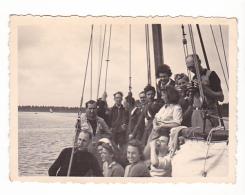 25829  Belgique -bateau Yatch -Régate à Rupelmonde -marin Femme Voilier -datée 12 Sept 1942 -Course Relais - Bateaux